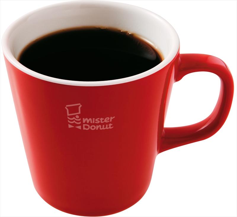 【ミスド】『ミスド ブレンドコーヒー』が10月8日から発売