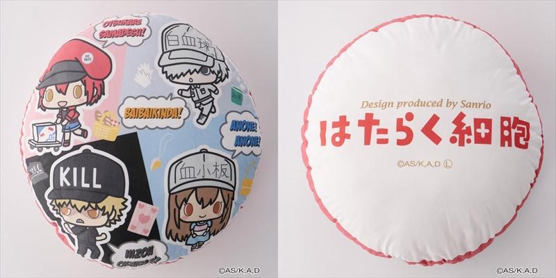 【イオン限定】はたらく細胞×サンリオ パーカなど19種類を店舗とWEBで新発売